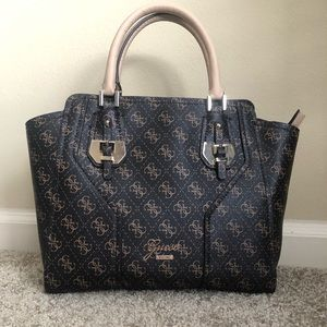 Guess logo large purse, option for cross body.